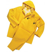 3-Piece Rainsuit, Anchor 4035/L, PVC/Polyester, Large