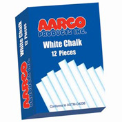 Aarco White Chalk 12 Boxes - Pkg Qty 2