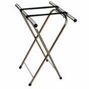 Aarco Products  In Chrome Folding Tray Stand
