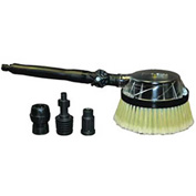 Gear Driven Swivel Joint Rotary Brush with Adapters