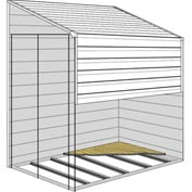 Arrow Shed Floor Frame Kit for 4' x 7' & 4' x 10' Building