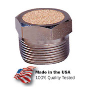 "Arrow Breather Vent ASP-4BV, Sintered Bronze, 1/2"" NPT, 150 PSI - Pkg Qty 10"