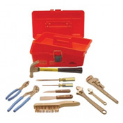 AMPCO® M-48 Non-Sparking 11 Piece Tool Kit