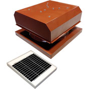 Attic Breeze® GEN 2 AB-2042D-TCT Curb Mount Detached Solar Attic Fan 20W Terra Cotta