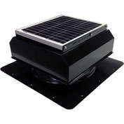 Attic Breeze® GEN 2 AB-3022A-BLK Self-Flashing Attached Solar Attic Fan 30W Black