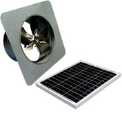 Attic Breeze® GEN 2 AB-3052 Gable Mount Solar Attic Fan 30W