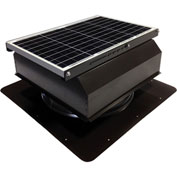 Attic Breeze® GEN 2 AB-4022A-BRN Self-Flashing Attached Solar Attic Fan 40W Brown