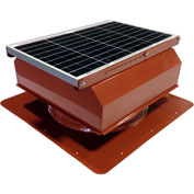 Attic Breeze® GEN 2 AB-4022A-TCT Self-Flashing Attached Solar Attic Fan 40W Terra Cotta