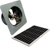 Attic Breeze® GEN 2 AB-4052 Gable Mount Solar Attic Fan 40W
