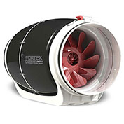 "Vortex S-Line Ultra Quiet In-Line Duct Blower Fan S-800 - 8"", 120V, 728 CFM"