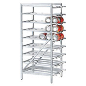 Advance Tabco CR10-162-X, Can Rack, Full Size, Holds (162) #10 Cans Or (216) #5 Cans
