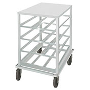 Advance Tabco CR10-54, Can Rack, Aluminum Top, Holds (54) #10 Cans Or (72) #5 Cans