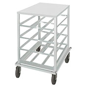 Advance Tabco CRSS10-54, Can Rack, Stainless Steel Top, Holds (54) #10 Cans Or (72) #5 Cans