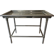 "Advance Tabco SR-96 Sorting Table, 96""W x 30""D w/ 3"" Raised Edge, Without Splash"