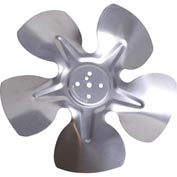 "8"" Unit Bearing Hubless Fan Blade - 40° Pitch, Clockwise Rotation - Min Qty 13"