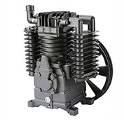 Atlas Copco AR 5E, Two-Stage Piston Compressor Pump, For use with 5 HP Electric Motor