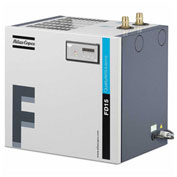 Atlas Copco FD 25, Saver Cycle Cycling Refrigerated Dryer, 53 cfm, 1-Phase 115V
