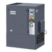 Atlas Copco G15, 20 HP, Rotary Screw Compressor, Tankless, Horizontal, 125 PSIG,3-Phase 208-230/460V