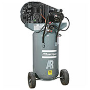 Atlas Copco AR-P24, 2 HP, Single-Stage Piston Compressor, 26 Gal, Vertical, 145 PSIG, 1-Phase 115V