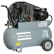 Atlas Copco AR-P24, 2 HP, Single-Stage Piston Compressor, 20 Gal, Horizontal, 145 PSIG, 1-Phase 115V