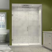 "Dreamline SHDR-244157210-HFR-04 Unidoor Plus Hinged Shower Door, Nickel, 41-1/2 to 42"" x 72"""