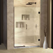 "Dreamline SHDR-245757210-HFR-06 Unidoor Plus Hinged Shower Door, Bronze, 57-1/2 to 58"" x 72"""