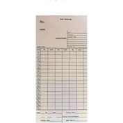Amano Time Cards for BX-1500, Monthly/Semi-Monthly, 1,000/Pack