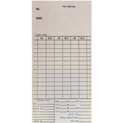 Amano Time Cards for BX-1500, Bi-Weekly, 1,000/Pack
