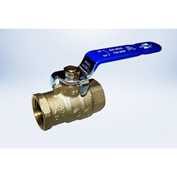 "American Valve G100 1/4"" FIP Full Port Ball Valve - Lead-Free Brass - Pkg Qty 12"