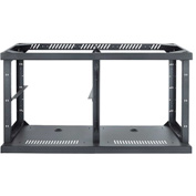 AVTEQ C2- Frame 2-Bay Technology Credenza Frame, Steel, Black