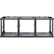 AVTEQ C3- Frame 3-Bay Technology Credenza Frame, Steel, Black