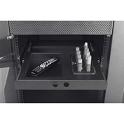"AVTEQ REVO-HD 19"" Rack Mountable Slide Out Drawer, Steel, Black"