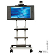 AVTEQ RPS-400 Rollabout Cart, Steel, Silver
