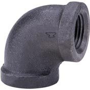 Anvil 1/2 In. Black Malleable 90 Elbow