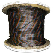 "Advantage 250' 5/8"" Diameter 6x19 Fiber Core Bright Wire Rope BFC6256X19R250"