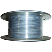 "Advantage 250' 3/8"" Diameter 7x19 Galvanized Aircraft Cable GAC3757X19R250"
