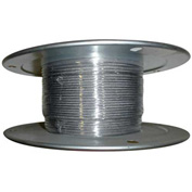 "Advantage 500' 1/16"" Diameter 7x7 Stainless Steel Aircraft Cable SSAC0627X7R500"