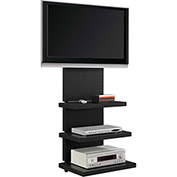 "Hollow Core AltraMount TV Stand for TVs up to 60"" Black Finish"