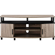"Dexter TV Stand for 50"" TVs Sonoma Oak and Black Finish"