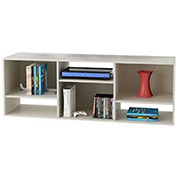 "60"" Wide Bookcase / TV Stand White Stipple Finish"