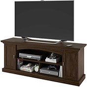 Transitional TV Stand & Media Storage Resort Cherry