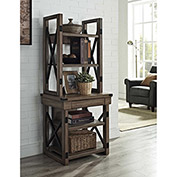 Wildwood Audio Pier / Bookshelf Rustic Gray Finish