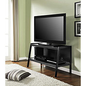 Ladder Style TV Stand in Black Finish