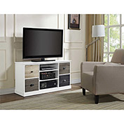 "Mercer Storage TV Console with Multicolored Door Fronts for 48"" TVs"