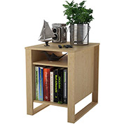 Ameriwood Side Table Sycamore Maple Finish