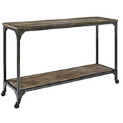 Cecil Console Table Rustic Finish