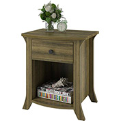 Oakridge Night Stand / End Table in Oak Finish by Altra