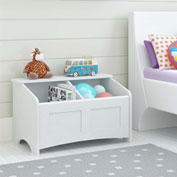 Ameriwood Toy Chest Finished in Federal White Finish
