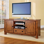 "Summit Mountain TV Stand for 55"" TVs Antique Bronze Finish"