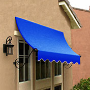 Awntech CH21-10BB, Window/Entry Awning Bright Blue 10-3/8'W x 1'D x 2'H